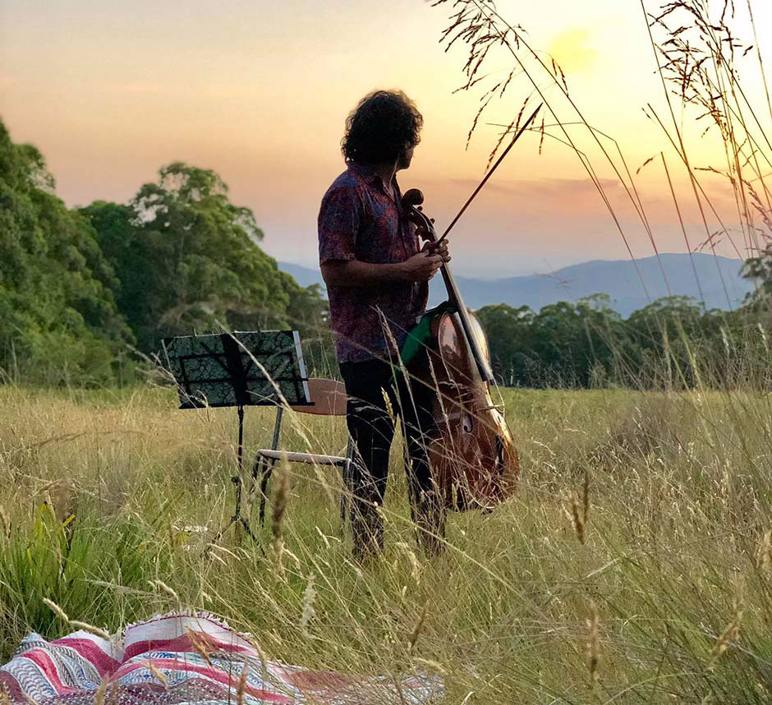 Bach to the Bush - Solo Cello in the Forest