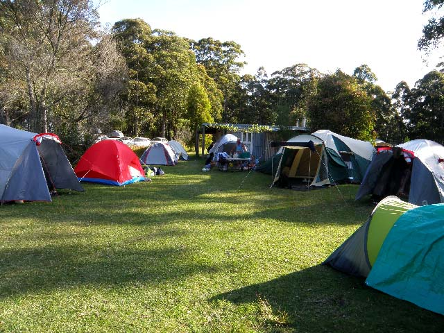 mount royal bunkhouse camping