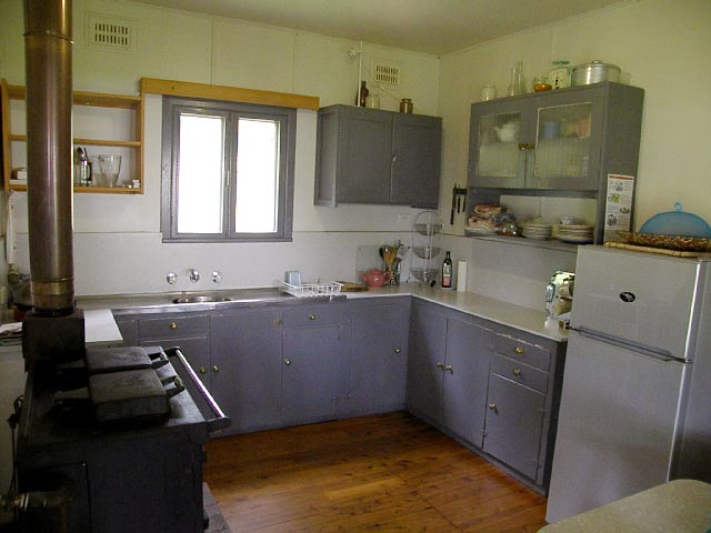 callicoma hill eco-cabins kitchen